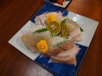 ヒラメの刺身 - sobu 2