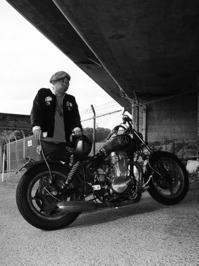 安彦 邦広 & SUZUKI LS400Savage(2017.09.16) - 君はバイクに乗るだろう
