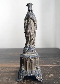 ルルドの聖母マリア像        /E750 - Glicinia 古道具店