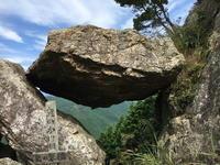 (丹波名所)鬼の架け橋 / Oni-no-Kakehashi (A strangely shaped rock) - Macと日本酒とGISのブログ