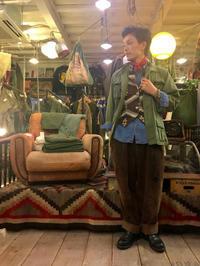 ネイティブベストコーデ‼️ - plywood used clothing service & furniture