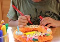 ハロウィンリースできあがり~ - 大阪府池田市 幼児造形教室「はるいろクレヨンのブログ」