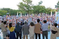 さようなら原発さようなら戦争 テントひろば 警視庁抗議 - ムキンポの exblog.jp