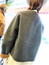 マーレンダム後ろふんわりジャケット・・・☆ - 今日のdureine
