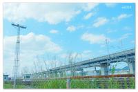 線路とススキ。 - Yuruyuru Photograph