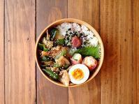 9/29(金)豚ピーマンの胡麻味噌炒め弁当 - おひとりさまの食卓plus