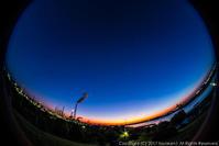 フィッシュアイ 朝に近い夜の景色 - シセンのカナタ