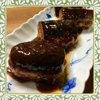 茄子の鶏ひき肉はさみ照焼き(レシピ付) - kajuの■今日のお料理・簡単レシピ■