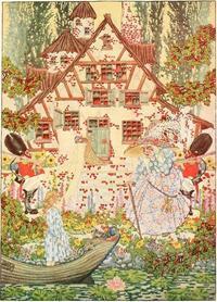 Dugald Stewart Walker画の雪の女王 - Books