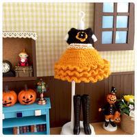 定番のハロウィンカラーのドール服 - 編み好き@amiami通信