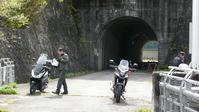 紅葉前の御嶽 - マーチとバイク