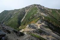 北アルプス表銀座縦走2日目その2大天井岳 - アサクフカク