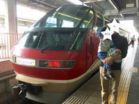 豊橋駅で名鉄パノラマスーパー - 子どもと暮らしと鉄道と