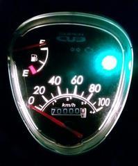 スーパーカブ110の走行距離が17万キロに到達〜! - zoff's blog