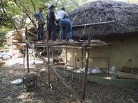 屋根の葺き替え_2 - つちのいえプロジェクト