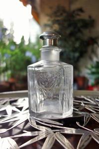 クリスタル角瓶37、39 - スペイン・バルセロナ・アンティーク gyu's shop
