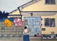 雨のあと - たなかきょおこ-旅する絵描きの絵日記/Kyoko Tanaka Illustrated Diary