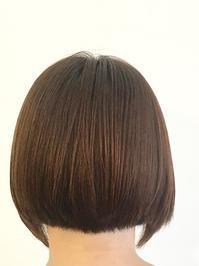 縮毛矯正毛とボブと。 - 吉祥寺hair SPIRITUSのブログ