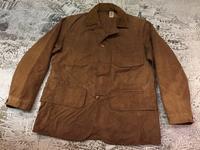 """10月4日(水)大阪店ヴィンテージ入荷!#6 Hunting編!!30's""""DUXBAK""""&Vest&Shooting!! - magnets vintage clothing コダワリがある大人の為に。"""