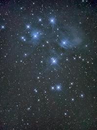 M45プレアデス星団 - お手軽天体写真