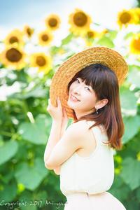 sunflower 8 - naco #144 - Mi-yan's PHOTO LIFE blog [PORTRAIT]