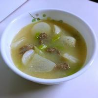 토란국(トラングッ:里芋汁) - キューニーの食卓