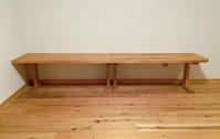 山桜の組合せ文机 - woodworks 季の木  日々を愉しむ無垢の家具と小物