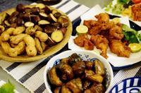 ■ケータリングディナー【①季節のおつまみ4品】自宅から持参の料理です♪ - 「料理と趣味の部屋」