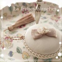 マカロンメジャー - La fraise blanche ~カルトナージュ&ハンドメイド~