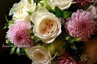 お誕生日のお祝いに♪フラワーアレンジメント。 - 花色~あなたの好きなお花屋さんになりたい~