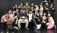 稽古十七日目(担当:山内貴人) - 舞台「ポセイドンの牙」公式ブログ