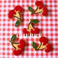 チェリーのアイシングクッキー - hanco*fass*