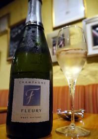 シャンパン食堂 @気軽にシャンパーニュを - Kaorin@フードライターのヘベレケ日記
