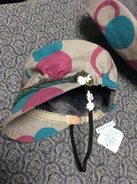 小さなお客さま - 帽子工房 布布