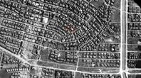 東門町航空写真 昔(昭和20年)と今 byモニカ - 海峡web版