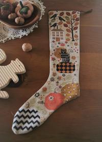 Olga's Autumn Stocking 完成* - あくびノオト