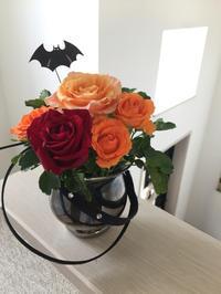 ハロウィンのアレンジ - 空色のココロ~小さな幸せを探して~