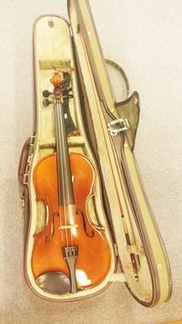 はじめてのヴァイオリン - サリーハウス☆幸せは日々の中にかくれんぼ