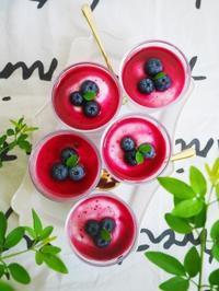 ブルーベリーヨーグルトムース♪ - This is delicious !!