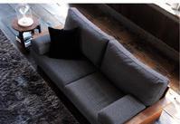 ウォールナット材無垢フレームのマスターウォールソファーキャンペーン開催。一枚板と木の家具の専門店エムズファニチャーです。 - ウォールナットの一枚板テーブルとウォールナットの無垢の家具 M's furniture