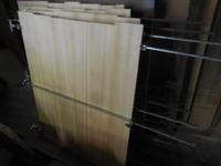 作品展の加工つづき - 手作り家具工房の記録