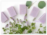 ライラックとミントの香りの石けん - *Herbと手作り石けんが香る家*