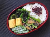 10/6いわしの生姜煮弁当 - ひとりぼっちランチ