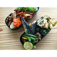 秋刀魚塩焼きBENTO - Feeling Cuisine.com
