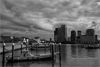 運河の雲 - りゅう太のあしあと