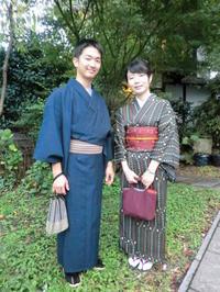 お着物で嵐電に乗って、竜安寺へ。 - 京都嵐山 着物レンタル&着付け「遊月」