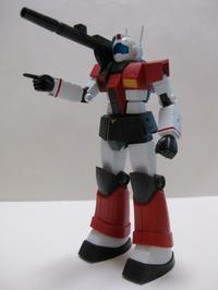 今日の玩具 (ロボット魂 ジムキャノン ver. A.N.I.M.E. その2) - Q部ログ