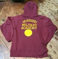 10月8日(日)入荷!90s〜champion Missouri Military Academy パーカー! - ショウザンビル mecca BLOG!!