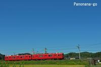 ふるさとの、ちいさな電車~秋空へのカタパルト~ - ちょっくら、そのへんまで。な日常。