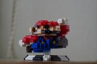 ダイソーのプチブロックで作ったドットマリオ その3 - ( どーもボキです > Z_ ̄∂